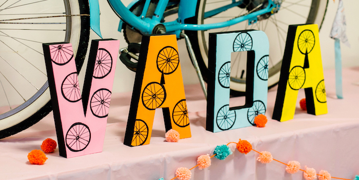Bike Themed Birthday Party on Kara's Party Ideas | KarasPartyIdeas.com (1)