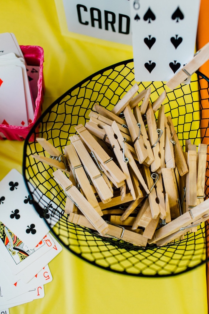 Clothes pins from a Bike Themed Birthday Party on Kara's Party Ideas | KarasPartyIdeas.com (35)
