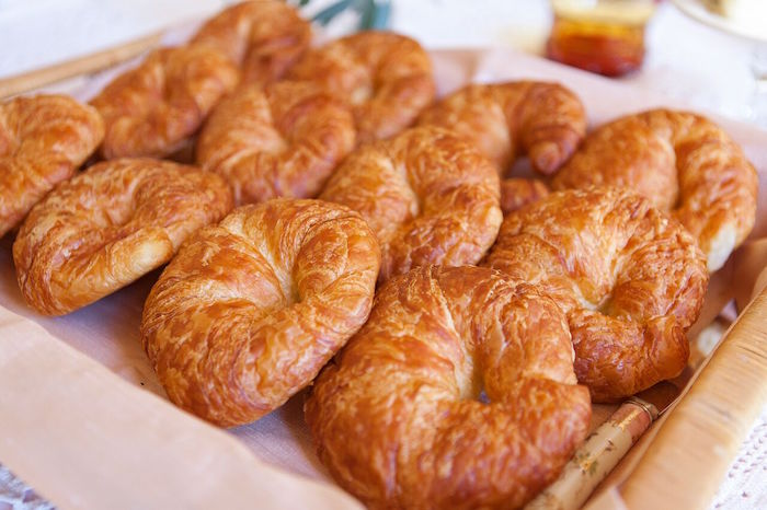 Croissants from a Boho Chic Baby Shower on Kara's Party Ideas | KarasPartyIdeas.com (27)