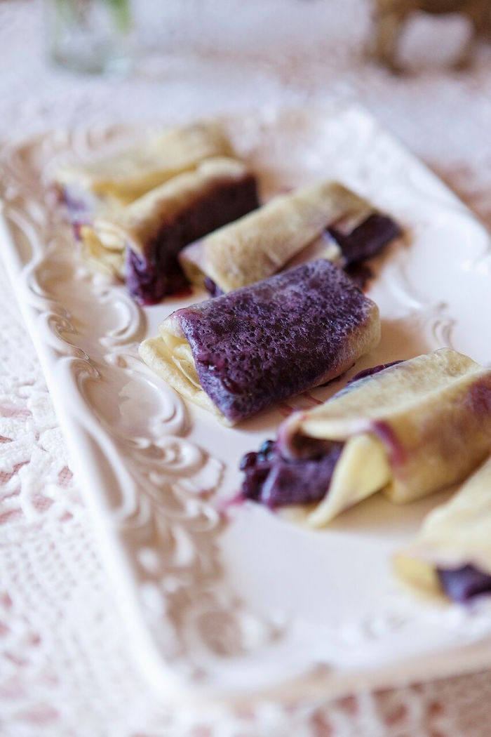 Crepes from a Boho Chic Baby Shower on Kara's Party Ideas | KarasPartyIdeas.com (23)