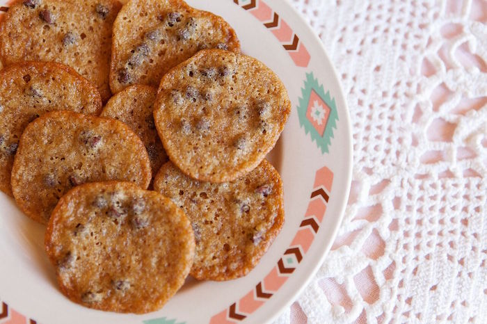 Cookies on a tribal plate from a oho Chic Baby Shower on Kara's Party Ideas | KarasPartyIdeas.com (16)