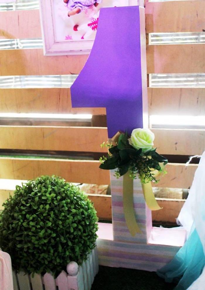 "Boho block number ""1"" from a Boho Chic Birthday Party on Kara's Party Ideas | KarasPartyIdeas.com (22)"