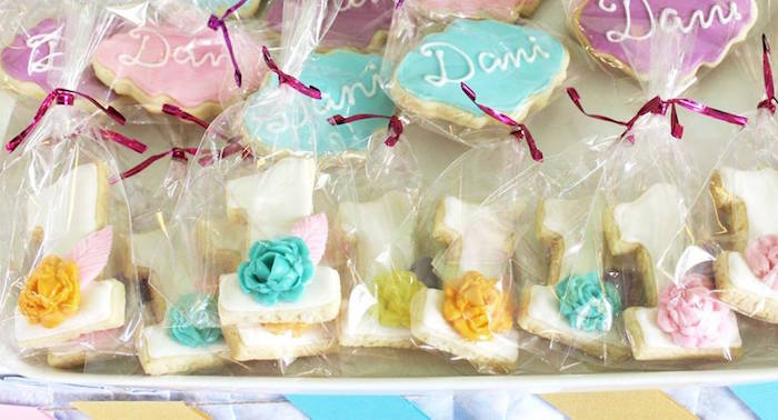 Cookies from a Boho Chic Birthday Party on Kara's Party Ideas | KarasPartyIdeas.com (18)
