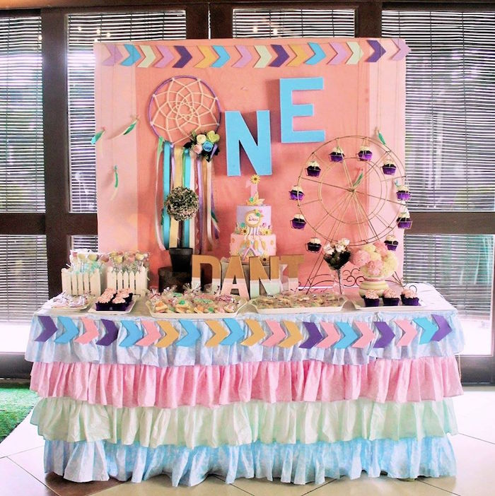 Boho Chic Birthday Party on Kara's Party Ideas | KarasPartyIdeas.com (4)