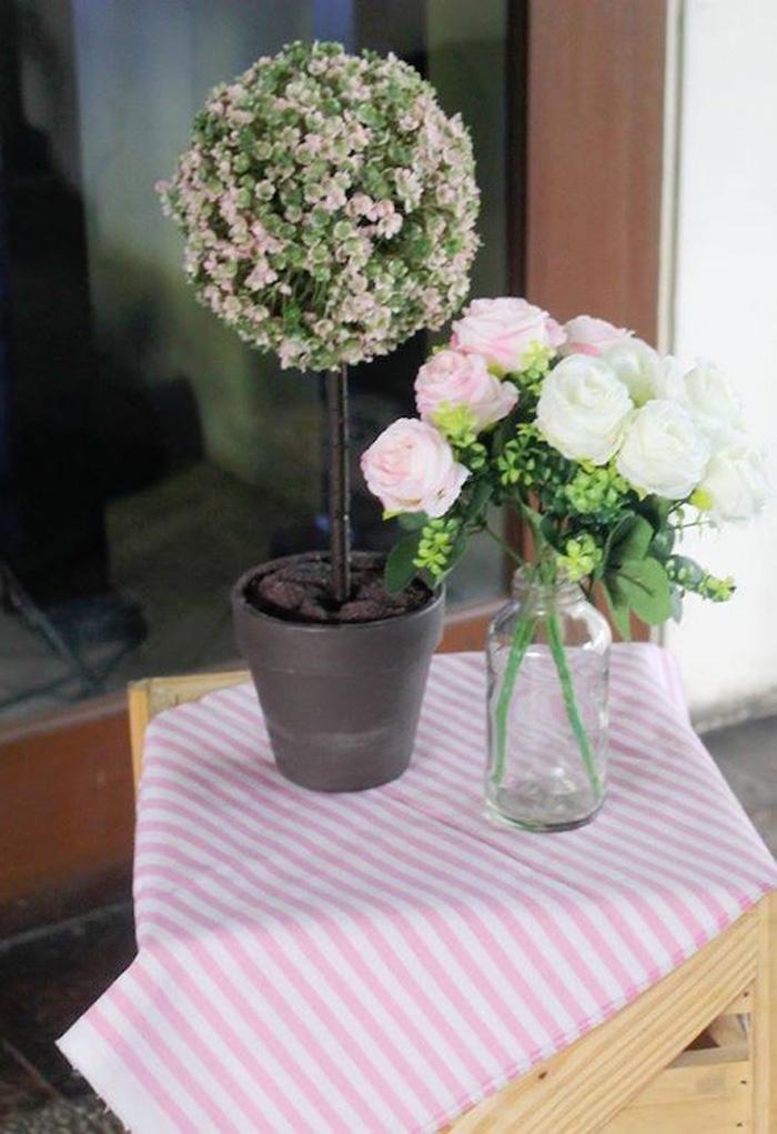 Flowers from a Boho Chic Birthday Party on Kara's Party Ideas | KarasPartyIdeas.com (39)