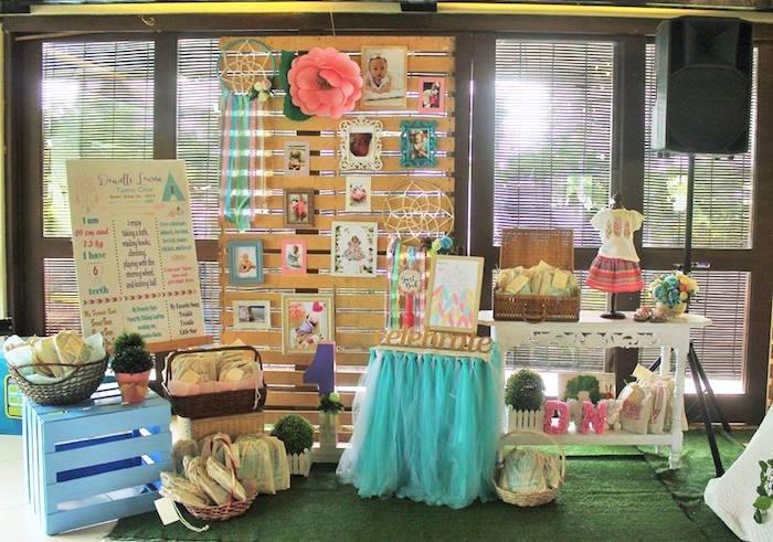 Boho Chic Birthday Party On Karas Ideas