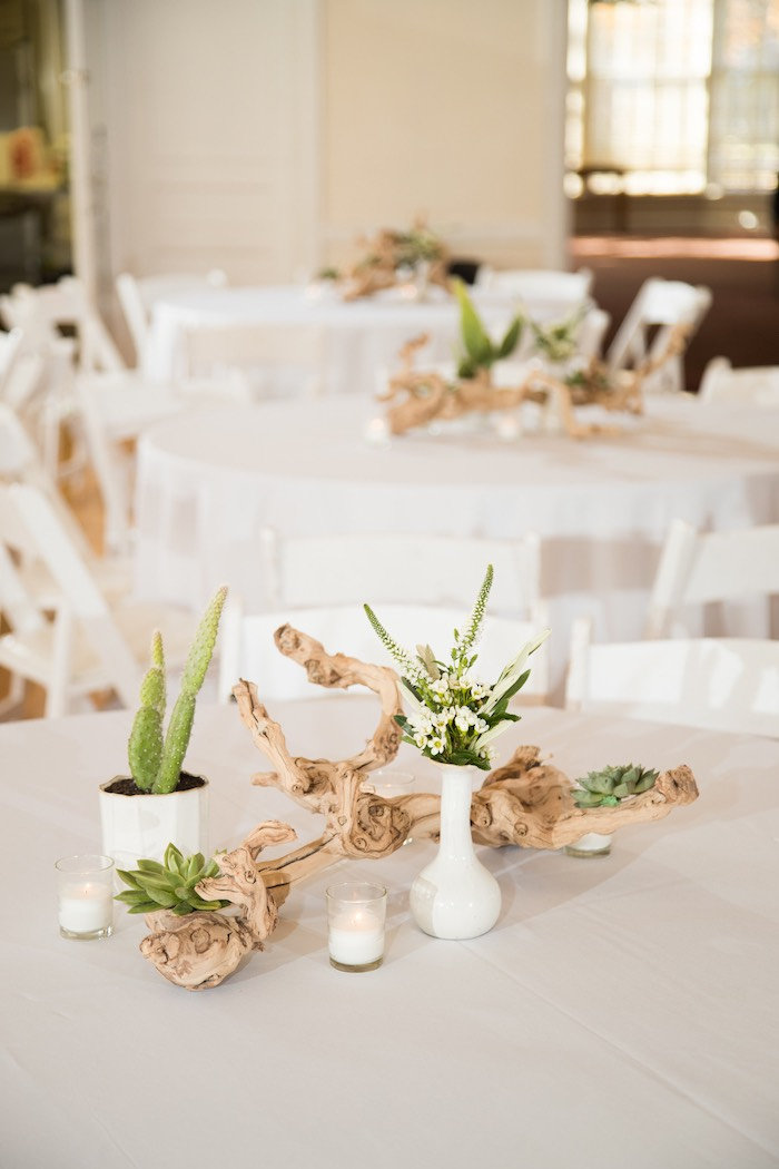 Guest tabletop + decor from a Cactus Themed 1st Birthday Party on Kara's Party Ideas | KarasPartyIdeas.com (35)