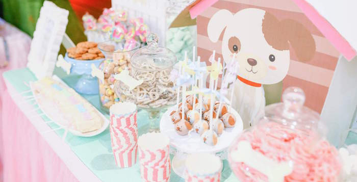 Chic Puppy Paw ty on Kara's Party Ideas | KarasPartyIdeas.com (1)