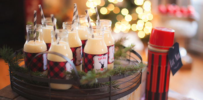 Cozy Tree Trimming Holiday Party on Kara's Party Ideas | KarasPartyIdeas.com (2)