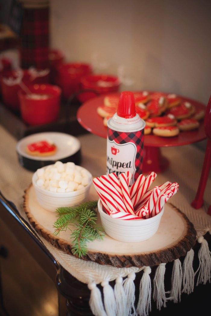 Party Ideas Cozy Tree Trimming Holiday Party Kara S Party Ideas