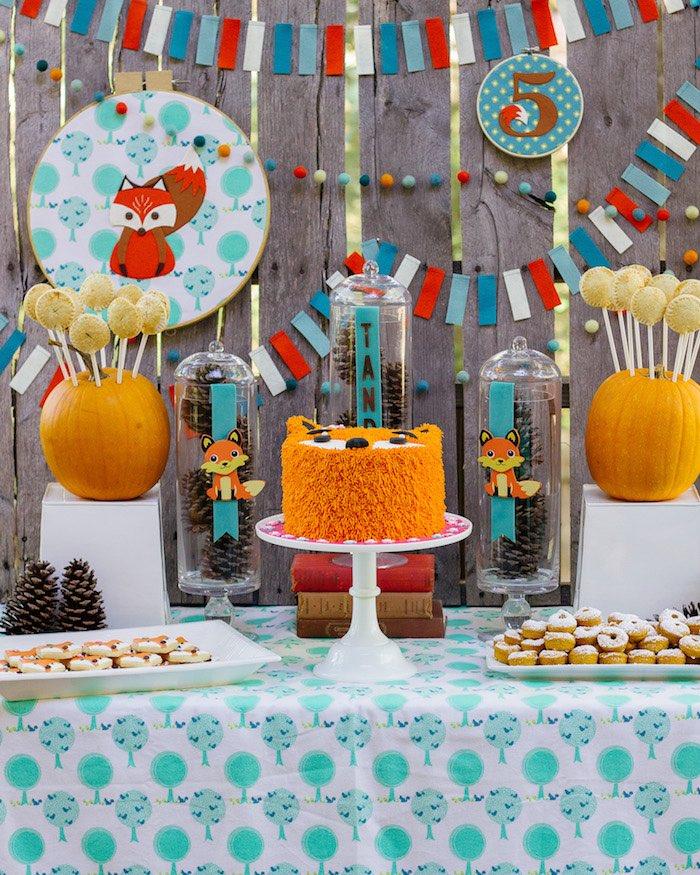 Crafty Like a Fox Birthday Party on Kara's Party Ideas   KarasPartyIdeas.com (11)