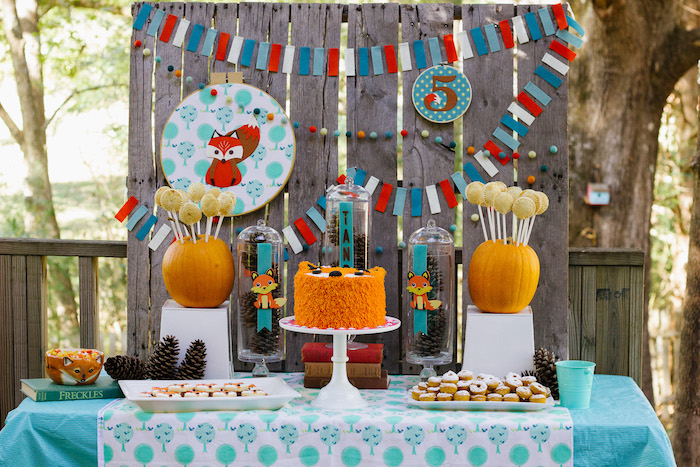 Crafty Like a Fox Birthday Party on Kara's Party Ideas   KarasPartyIdeas.com (9)