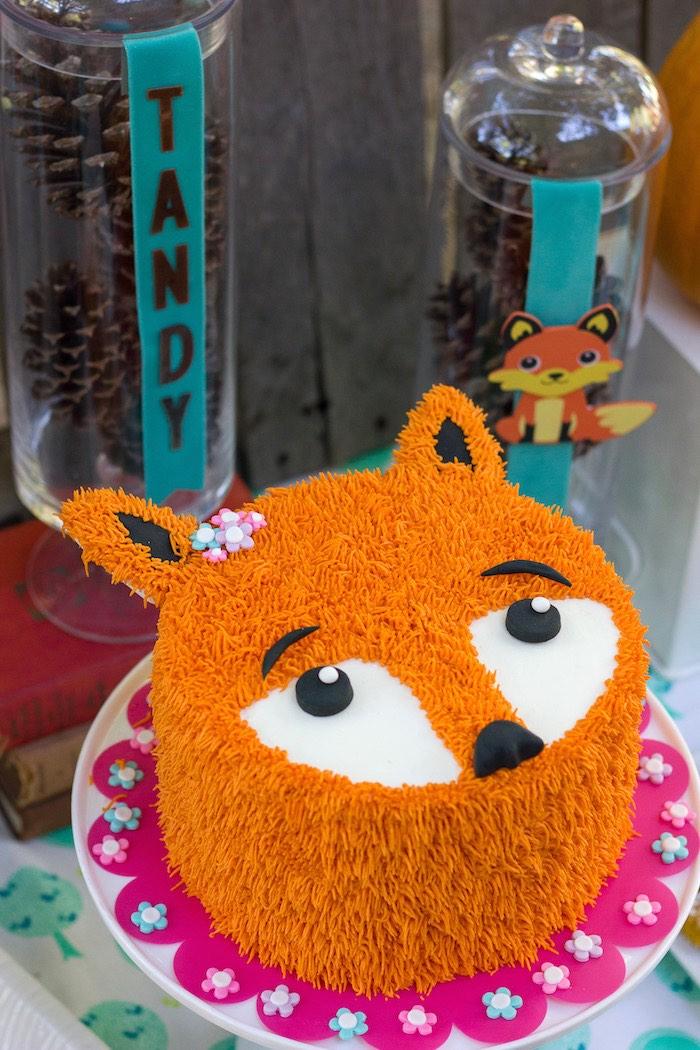 Kara's Party Ideas Crafty Like a Fox Birthday Party | Kara ...