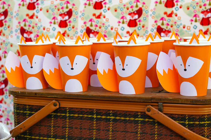 Kara S Party Ideas Crafty Like A Fox Birthday Party Kara