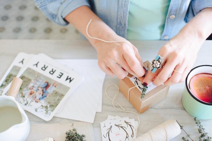 DIY Holiday Gift Ideas + Christmas Cards on Kara's Party Ideas | KarasPartyIdeas.com (11)