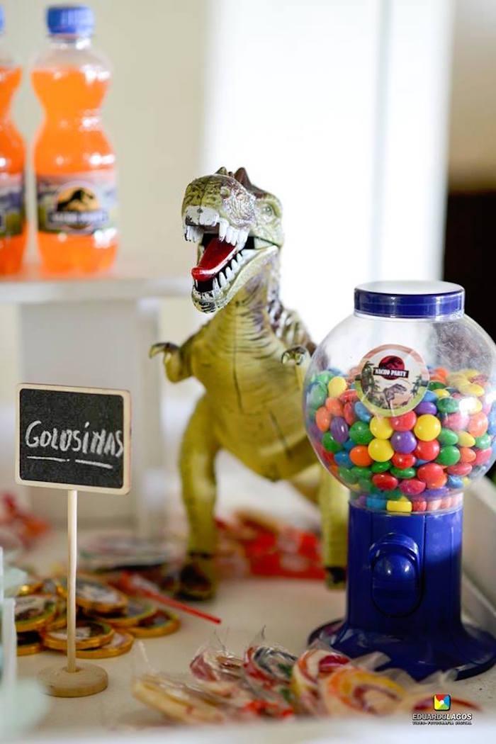 Dinosaur Birthday Party on Kara's Party Ideas | KarasPartyIdeas.com (18)