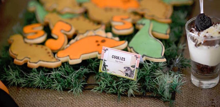 Dinosaur Birthday Party on Kara's Party Ideas | KarasPartyIdeas.com (5)