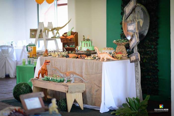 Dinosaur Birthday Party on Kara's Party Ideas | KarasPartyIdeas.com (35)