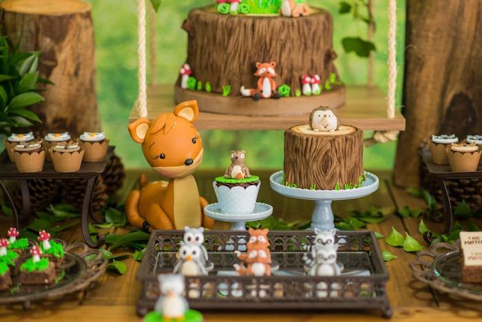 Enchanted Forest Birthday Party on Kara's Party Ideas   KarasPartyIdeas.com (40)