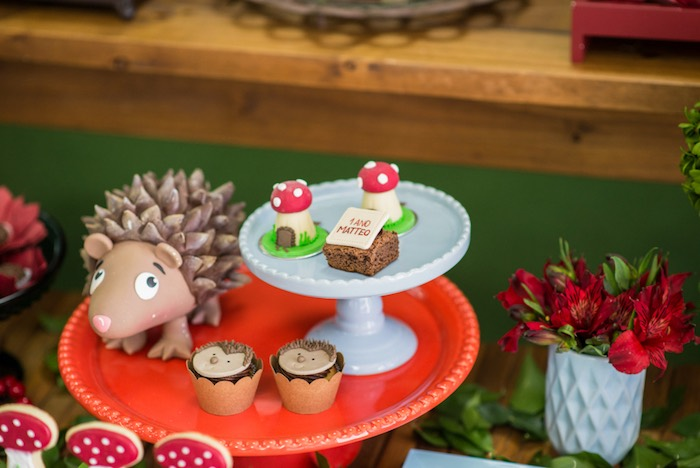 Woodland sweets from an Enchanted Forest Birthday Party on Kara's Party Ideas   KarasPartyIdeas.com (33)