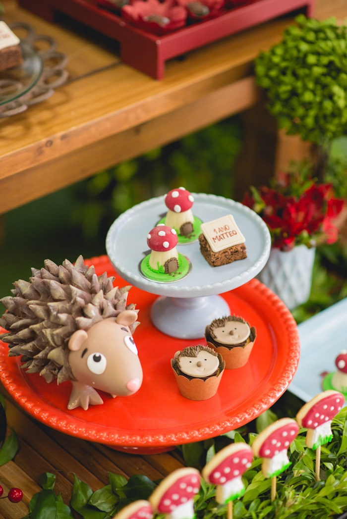 Woodland sweets from an Enchanted Forest Birthday Party on Kara's Party Ideas   KarasPartyIdeas.com (32)
