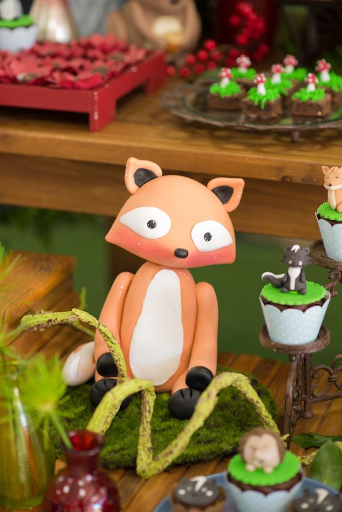 Fox from an Enchanted Forest Birthday Party on Kara's Party Ideas   KarasPartyIdeas.com (27)