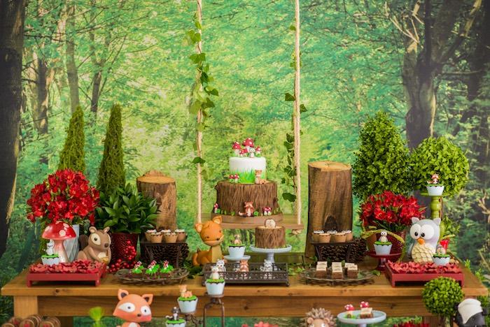 Enchanted Forest Birthday Party on Kara's Party Ideas   KarasPartyIdeas.com (20)