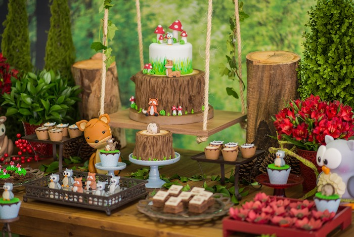 Karas Party Ideas Matteos Enchanted Forest Birthday