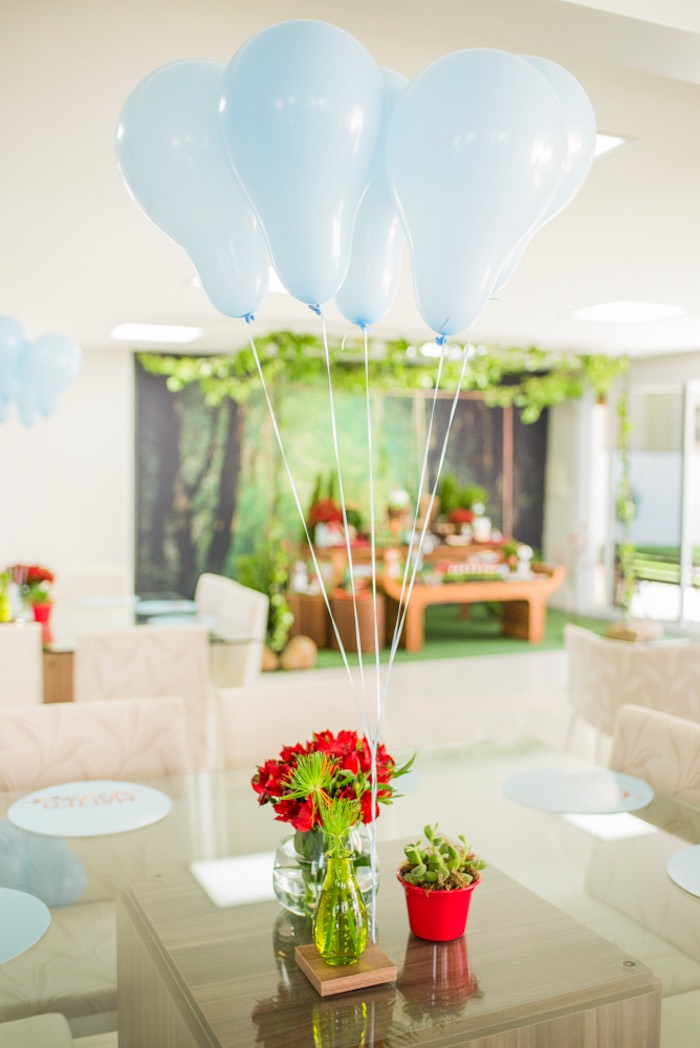 Guest table from an Enchanted Forest Birthday Party on Kara's Party Ideas   KarasPartyIdeas.com (4)