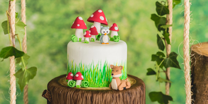 Enchanted Forest Birthday Party on Kara's Party Ideas | KarasPartyIdeas.com (1)