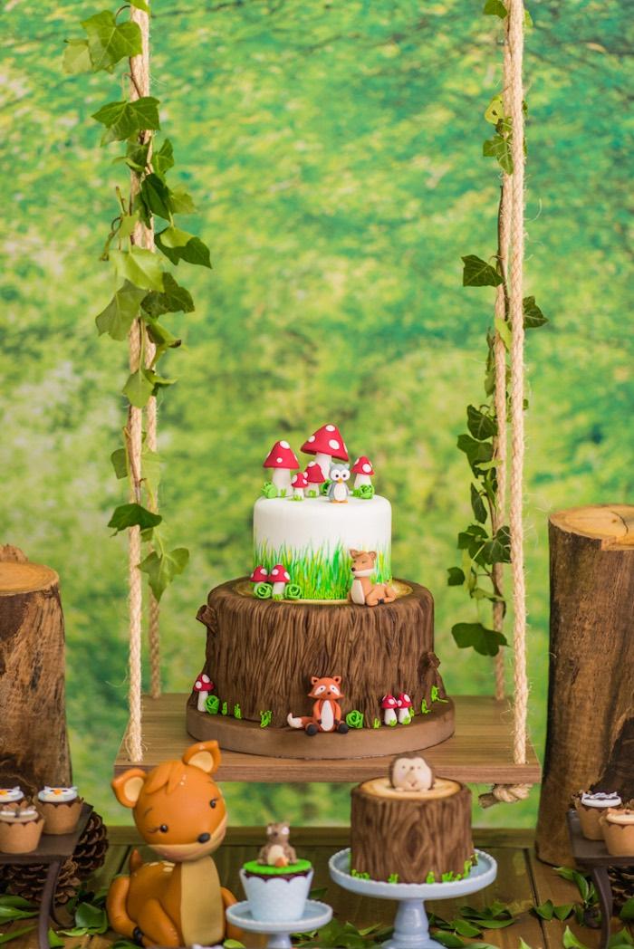 Enchanted Forest Birthday Party on Kara's Party Ideas   KarasPartyIdeas.com (53)