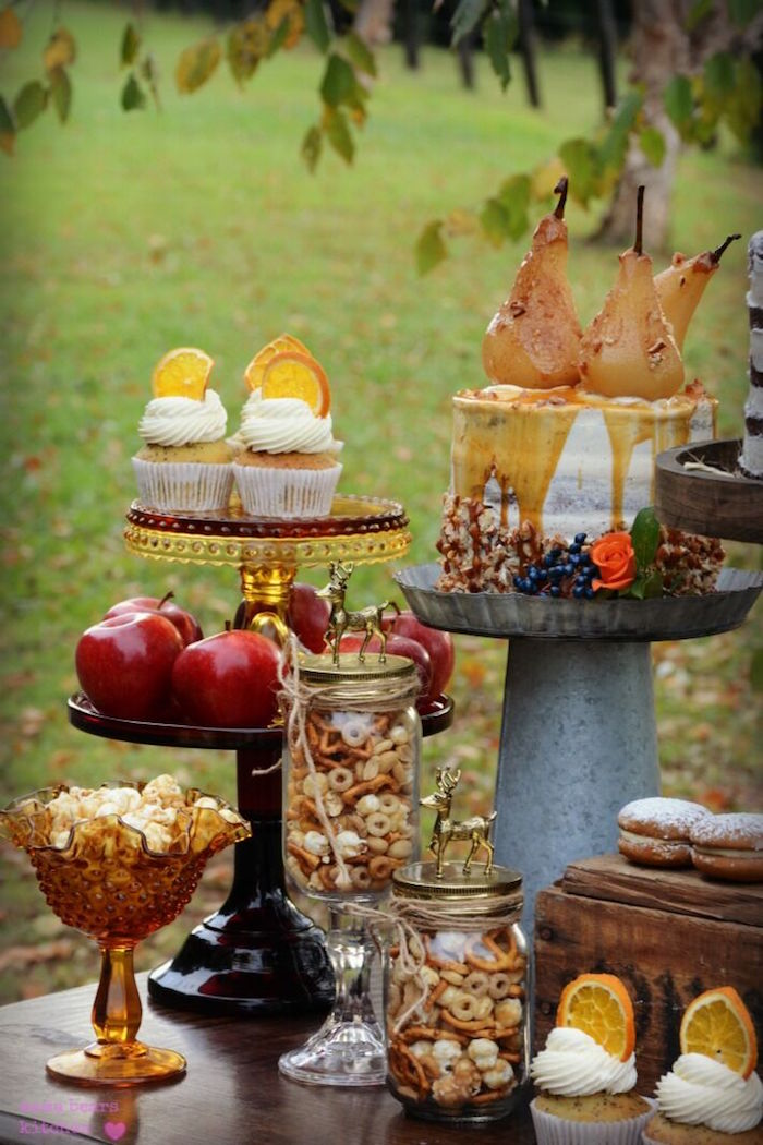 Sweets and snacks from a Fall Dessert Table on Kara's Party Ideas | KarasPartyIdeas.com (29)