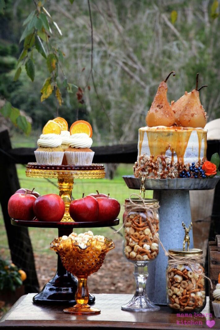 Desserts and snacks from a Fall Dessert Table on Kara's Party Ideas | KarasPartyIdeas.com (28)
