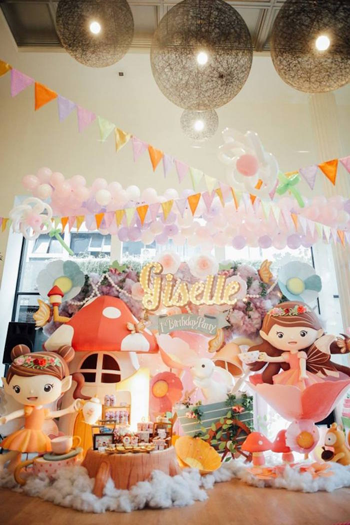 Friendly Fairy Birthday Party on Kara's Party Ideas | KarasPartyIdeas.com (14)