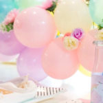 Floral Rainbow Glam Unicorn Birthday Party on Kara's Party Ideas | KarasPartyIdeas.com (2)