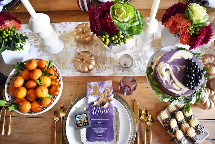 Friendsgiving Dinner Party on Kara's Party Ideas | KarasPartyIdeas.com (2)
