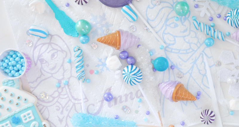 Turquoise Purple Frozen Birthday Party November 16 2016 2 Comments