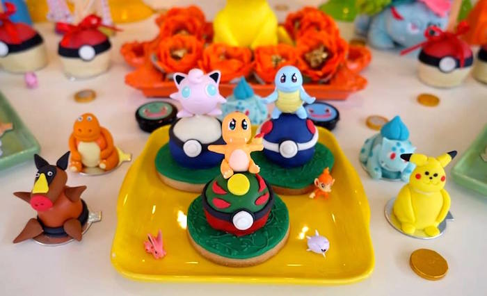 Pokemon Cake Ball Cookies at a Girly Pokemon Birthday Party via Kara's Party Ideas | KarasPartyIdeas.com (29)