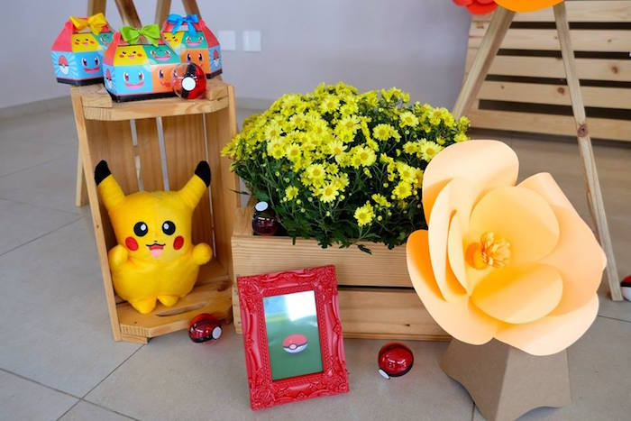 Girly Pokemon Birthday Party via Kara's Party Ideas | KarasPartyIdeas.com (41)