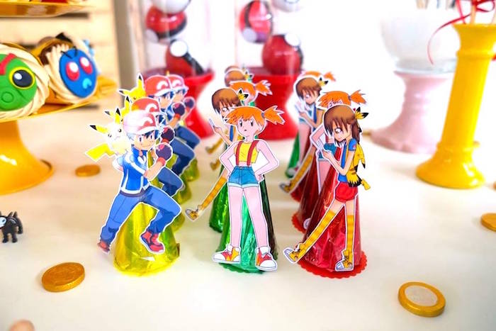 Pokemon Trainer Favors at a Girly Pokemon Birthday Party via Kara's Party Ideas | KarasPartyIdeas.com (15)