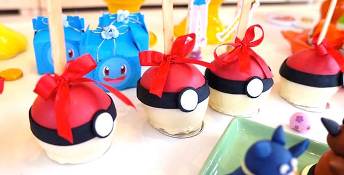 Girly Pokemon Birthday Party via Kara's Party Ideas | KarasPartyIdeas.com (3)