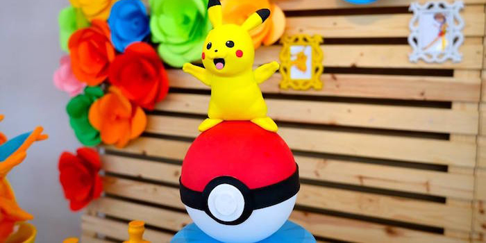 Girly Pokemon Birthday Party via Kara's Party Ideas | KarasPartyIdeas.com (2)