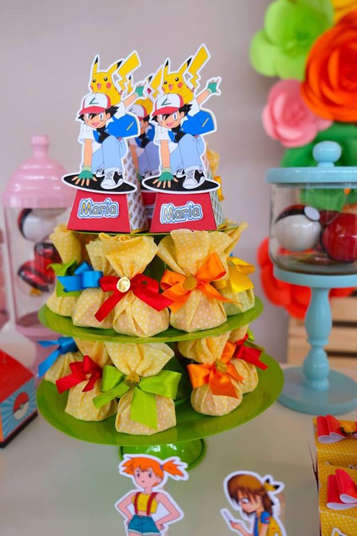 Pokemon Favors at a Girly Pokemon Birthday Party via Kara's Party Ideas | KarasPartyIdeas.com (34)