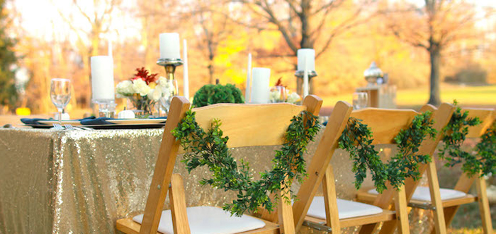 Glam Woodland Thanksgiving Dinner Party on Kara's Party Ideas | KarasPartyIdeas.com (1)