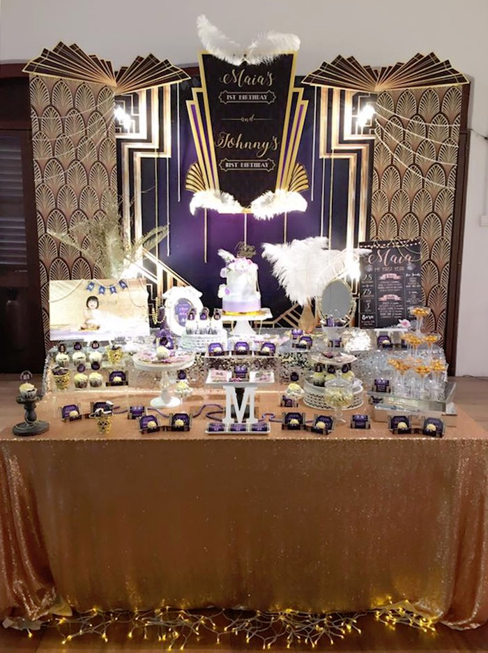Kara's Party Ideas Glamorous Old Hollywood Vintage ... |Old Hollywood Themed Birthday Party