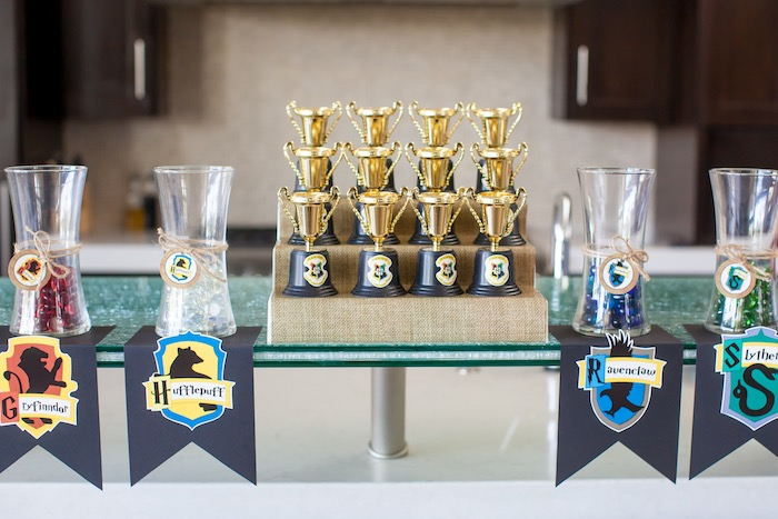 Harry Potter Birthday Party on Kara's Party Ideas | KarasPartyIdeas.com (15)