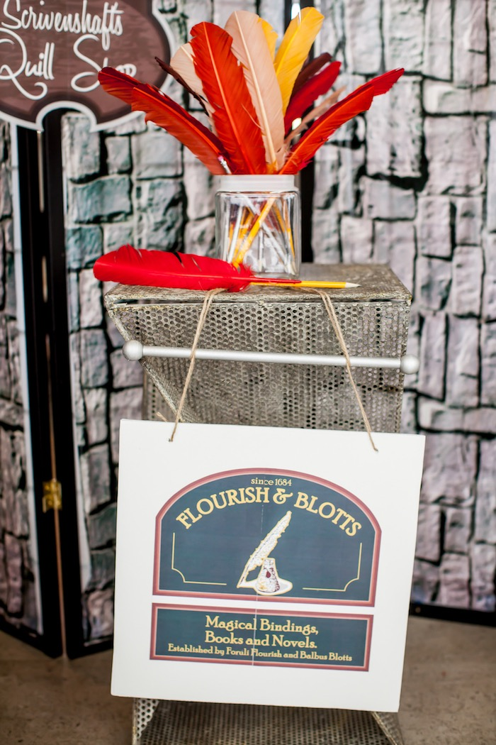 Harry Potter Birthday Party on Kara's Party Ideas | KarasPartyIdeas.com (96)