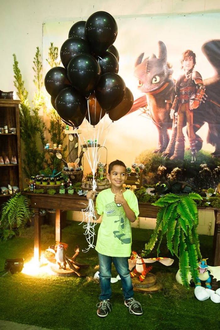 How to Train Your Dragon Birthday Party on Kara's Party Ideas | KarasPartyIdeas.com (26)
