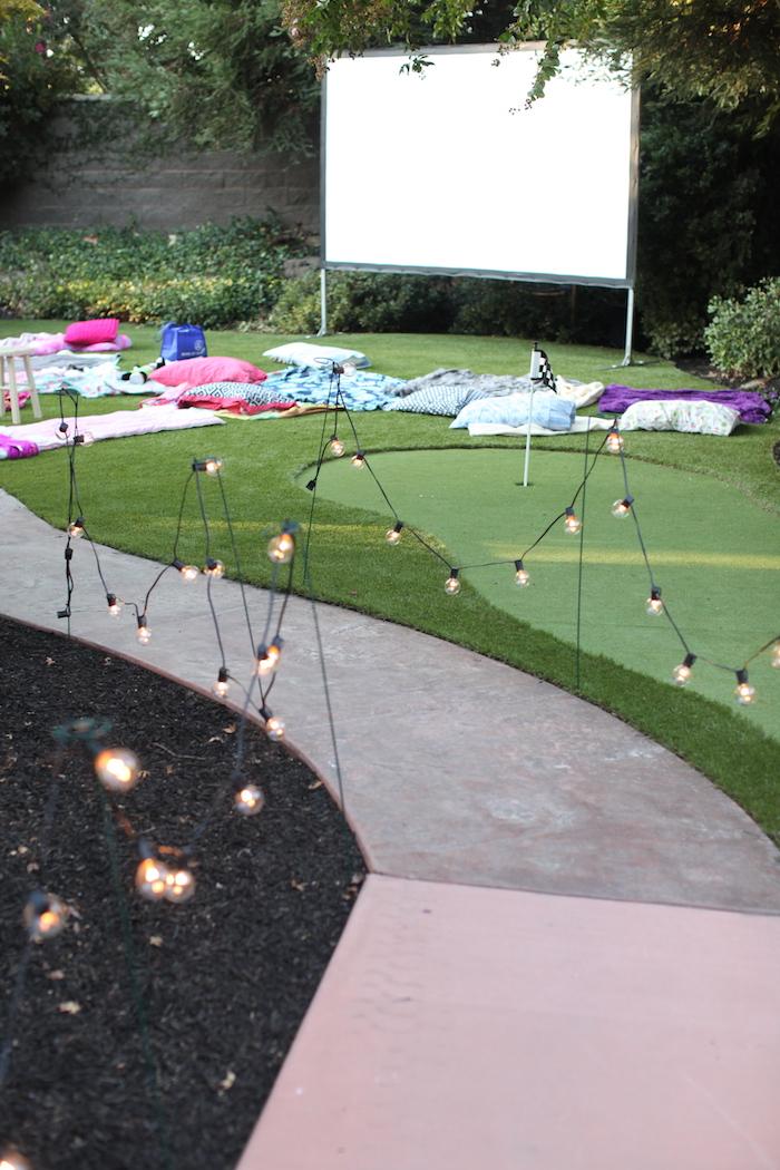 Night at the Movies Birthday Party via Kara's Party Ideas | KarasPartyIdeas.com (18)