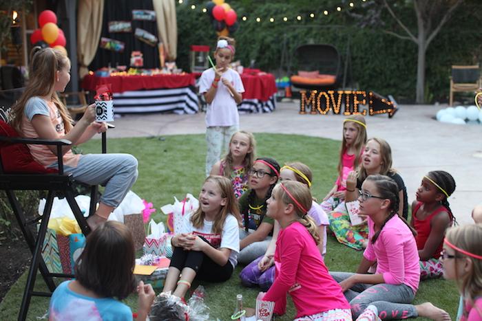 Night at the Movies Birthday Party via Kara's Party Ideas | KarasPartyIdeas.com (15)